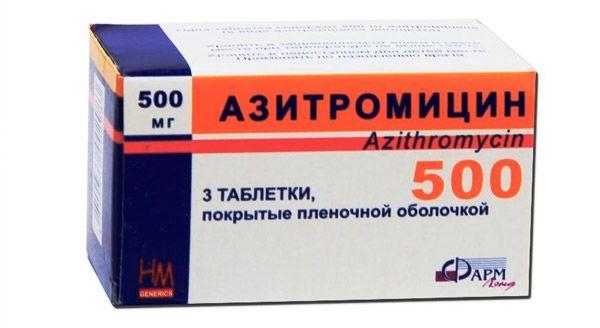 Az antibiotikumok listája a prosztatitis kezeléshez