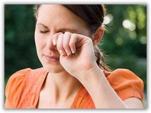 miután az influenza szeme fáj